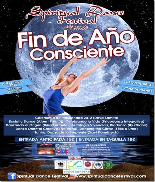 SDF - Fin de Año Consciente - Cartel