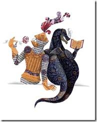 San Jordi y el dragon