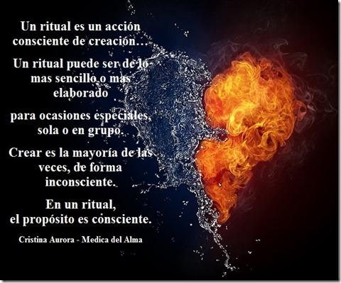 corazon de fuego y agua