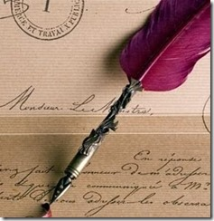escribir pluma