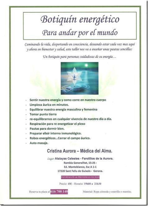 Foto letrero Botiquin Energetico 001